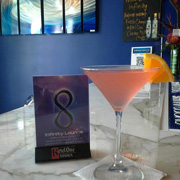 Martini at Infinity Lounge