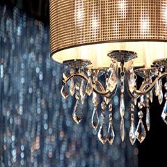 Lamp at Infinity Lounge